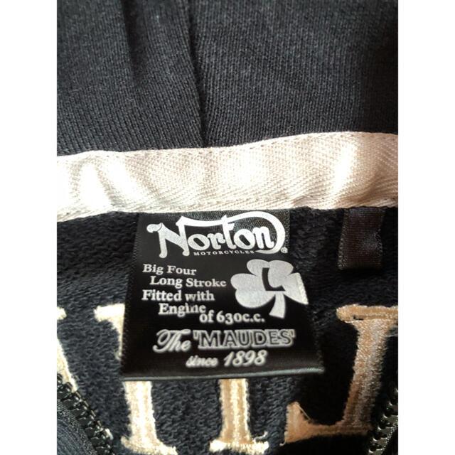 Norton(ノートン)のノートン パーカー Lサイズ メンズのトップス(パーカー)の商品写真