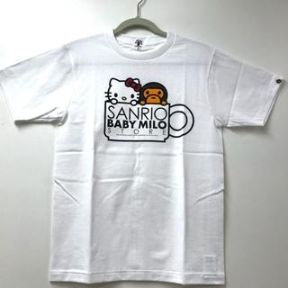 アベイシングエイプ(A BATHING APE)のアベイシングエイプ 限定 BAPE マイロ×キティ 半袖Tシャツ(Tシャツ(半袖/袖なし))