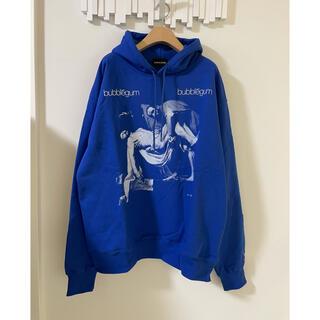 Bubblegum Hoodie パーカー  BLUE XL バブルガム(パーカー)