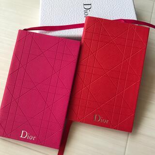 ディオール(Dior)のディオール Dior 手帳 ノート メモ帳 ノベルティ 非売品 セット(ノート/メモ帳/ふせん)