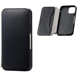 エレコム(ELECOM)のiPhone 11 Pro ソフトレザー 磁石付 カバー 手帳BK 243(iPhoneケース)