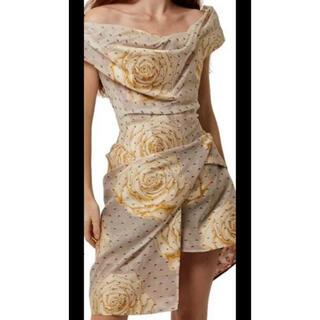 ヴィヴィアンウエストウッド(Vivienne Westwood)のヴィヴィアンウエストウッド コルセットドレス(ひざ丈ワンピース)