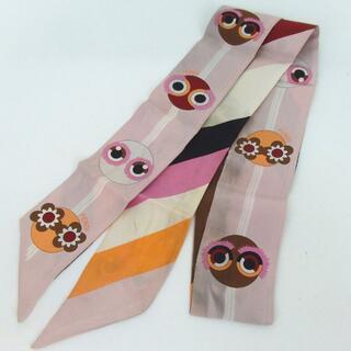 フェンディ(FENDI)のFENDI フェンディ ツイリー スカーフ 9-236(バンダナ/スカーフ)