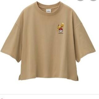 ジーユー(GU)のGUイーブイTシャツ(Tシャツ(半袖/袖なし))