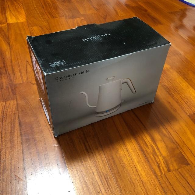 コンパクト電気ケトル スマホ/家電/カメラの生活家電(電気ケトル)の商品写真