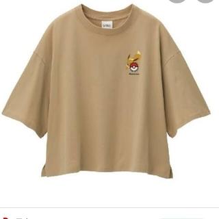 ポケモン(ポケモン)のGUイーブイTシャツ(Tシャツ(半袖/袖なし))