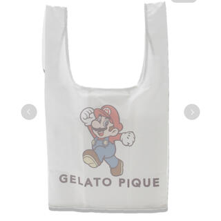 gelato pique - 新品 未使用 限定 先行販売 ジェラートピケ マリオ エコ バッグ