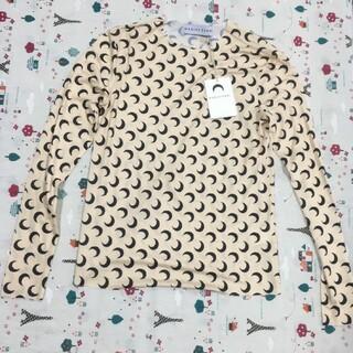マルタンマルジェラ(Maison Martin Margiela)の MARINE SERRE タートルネック ムーン トップ S(Tシャツ(長袖/七分))