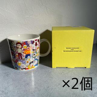 モマ(MOMA)の新品未使用 ドラえもん展 限定 村上隆 マグカップ 2個セット(キャラクターグッズ)