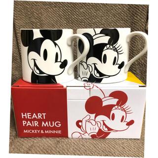 Disney - Francfranc ペアマグカップ ディズニー ハート♡ 未使用品 かわいい