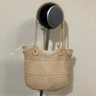 ロンハーマン(Ron Herman)の1960年代ヴィンテージ 日本製 かごバック 昭和レトロ(かごバッグ/ストローバッグ)