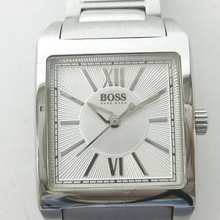 ヒューゴボス(HUGO BOSS)のヒューゴボス HB.125.3.14.2288 腕時計 シルバー文字盤 シルバー(腕時計(アナログ))