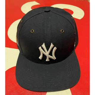 carhartt - Carhartt 47BRAND NY ニューヨーク ヤンキース キャップ 紺色