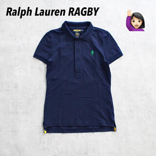 POLO RUGBY - Ralph Lauren RUGBY ポロラグビー スカル刺繍 ワンポイント