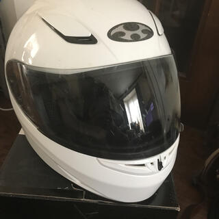 オージーケー(OGK)のフルフェイス ヘルメット FFーR3 Sサイズ(ヘルメット/シールド)