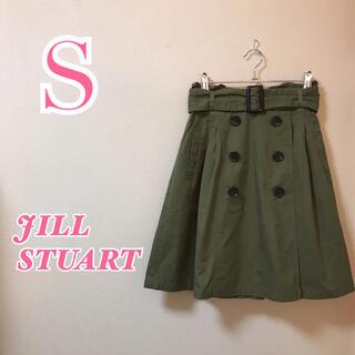 JILLSTUART - JILLSTUART ジルスチュアート カーゴ膝丈スカート フレアスカート