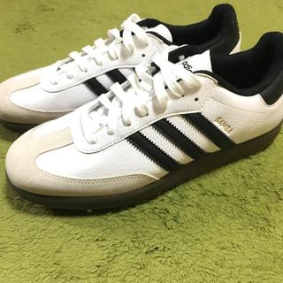 アディダス(adidas)の【adidas】SAMBA GOLF 美品◎(シューズ)