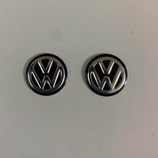 Volkswagen - フォルクスワーゲン エンブレム黒2個