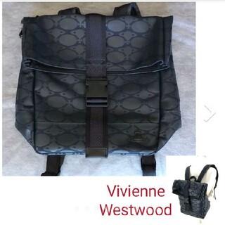 ヴィヴィアンウエストウッド(Vivienne Westwood)のヴィヴィアンウエストウッド⭐モノグラムオーブプリント⭐バッグパック リュック(リュック/バックパック)