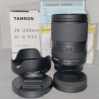 TAMRON - 【美品】TAMRON 28-200 F2.8-5.6 Di Ⅲ RXD ソニー