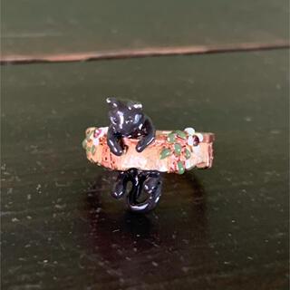 カオリノモリ(カオリノモリ)のPalnart Poc (パルナートポック) クララ・シンクレア 黒猫のリング(リング(指輪))