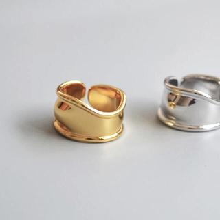 フリークスストア(FREAK'S STORE)のWave wide gold ring No.642(リング(指輪))