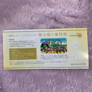 鈴鹿サーキット ツインリンクもてぎ 優待券(遊園地/テーマパーク)