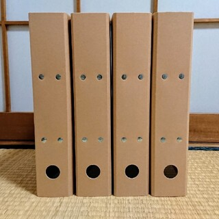 ムジルシリョウヒン(MUJI (無印良品))の無印良品 バインダー 2穴ファイル(ファイル/バインダー)
