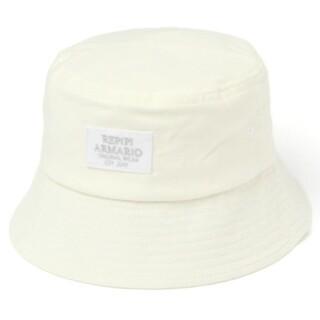 レピピアルマリオ(repipi armario)のレピピアルマリオ  コーデュロイバケハ  ホワイト(帽子)