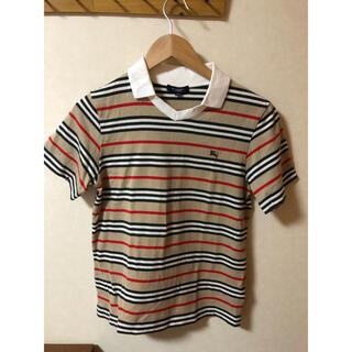BURBERRY - バーバリーロンドン 襟付きTシャツ 150