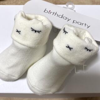 ベベ(BeBe)のベビーソックス BEBE birthday party(靴下/タイツ)