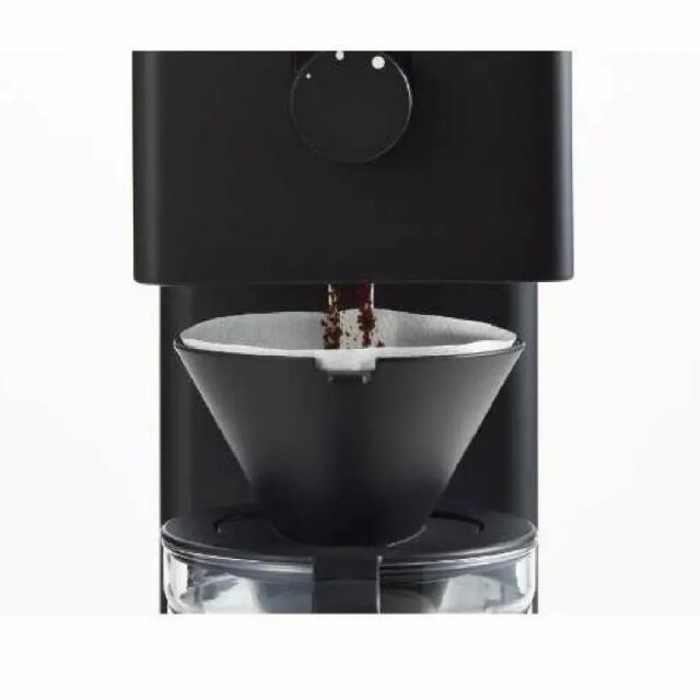 TWINBIRD(ツインバード)のツインバード 全自動コーヒーメーカー ブラック6cup CM-D465B 新品 スマホ/家電/カメラの調理家電(コーヒーメーカー)の商品写真