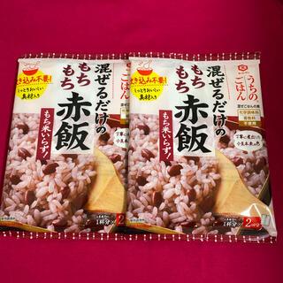 キッコーマン(キッコーマン)のキッコーマン うちのごはん 混ぜるだけの もちもち赤飯 2袋 (調味料)