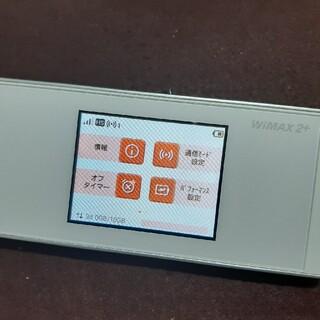 WiMAX Speed Wi-Fi W05 モバイルルーター 楽天モバイル設定(PC周辺機器)