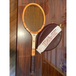 wilson - ウィルソン 硬式テニスラケット 米国製 カバー付き