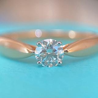 ティファニー(Tiffany & Co.)のティファニー ハーモニー リング PG ローズゴールド 0.22ct 3EX(リング(指輪))