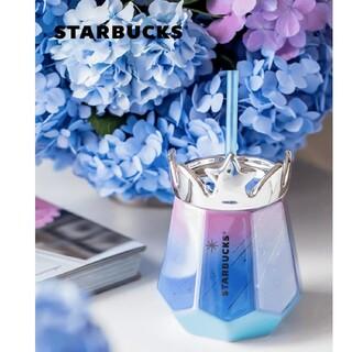 スターバックスコーヒー(Starbucks Coffee)のスターバックス中国夏限定 アジサイ 陶器タンブラー(タンブラー)