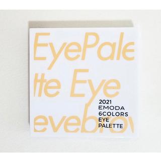 エモダ(EMODA)のEMODA × JELLY トレンドネイルカラー6本+6色アイパレット(マニキュア)