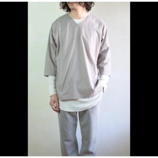 アンユーズド(UNUSED)の【美品】UNUSED football shirt フットボールシャツ(Tシャツ/カットソー(七分/長袖))