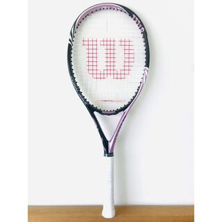 wilson - 新品同様/ウィルソン『BLXコーラルウェーブ』テニスラケット/G1/軽量/ピンク