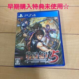 プレイステーション4(PlayStation4)の戦国無双5 PS4 早期購入特典未使用(家庭用ゲームソフト)