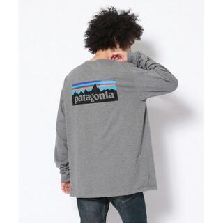 パタゴニア(patagonia)のpatagonia L/S P-6 Logo Responsibili-Tee(Tシャツ/カットソー(七分/長袖))