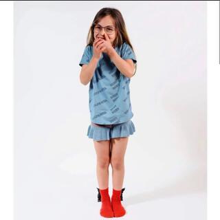 キャラメルベビー&チャイルド(Caramel baby&child )のwolf&rita ウルフアンドリタ 100.110♡シンプルロゴTシャツ(Tシャツ/カットソー)