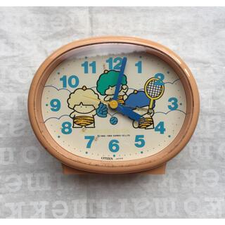 サンリオ(サンリオ)のゴロピカドン CITIZEN 目覚まし時計(置時計)