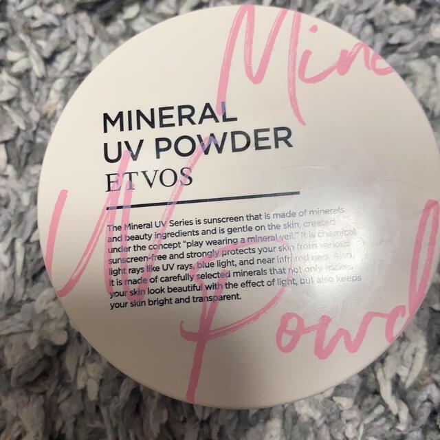 ETVOS(エトヴォス)のミネラルuvパウダー コスメ/美容のベースメイク/化粧品(フェイスパウダー)の商品写真