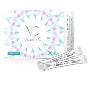 高濃度ビタミンC3000mgサプリメントVC 1箱(ビタミン)
