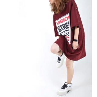 ジュエティ(jouetie)のjouetie×VISIONコラボ Tシャツ ビッグティシャツ(Tシャツ(半袖/袖なし))