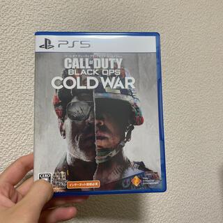 プレイステーション(PlayStation)の【PS5】コール オブ デューティ ブラックオプス コールドウォー (家庭用ゲームソフト)