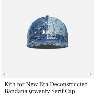 ニューエラー(NEW ERA)の【新品未使用】Kith New Era Bandana 9twenty Cap(キャップ)