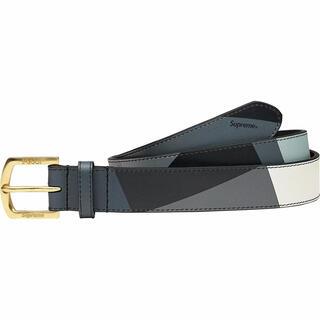 シュプリーム(Supreme)の黒 S/M Supreme Emilio Pucci Belt Black (ベルト)